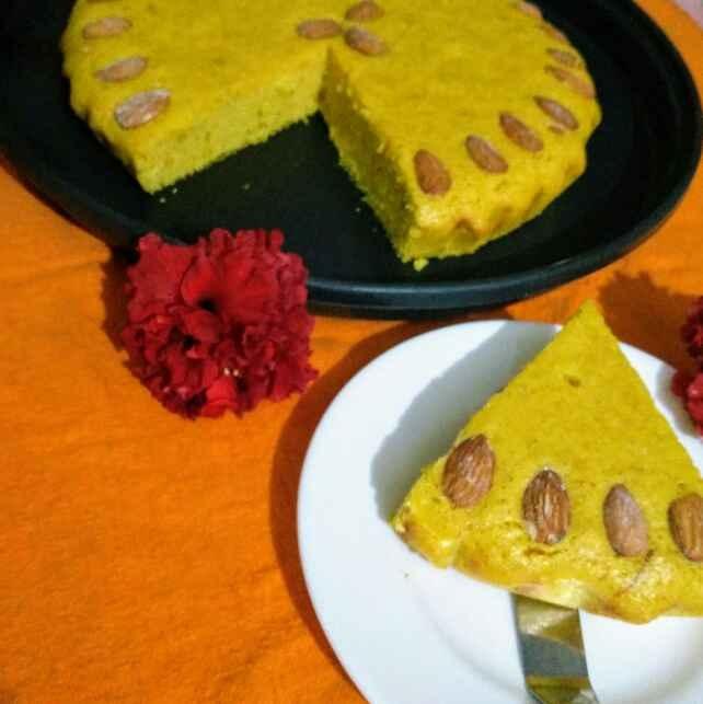 How to make Saffron cake