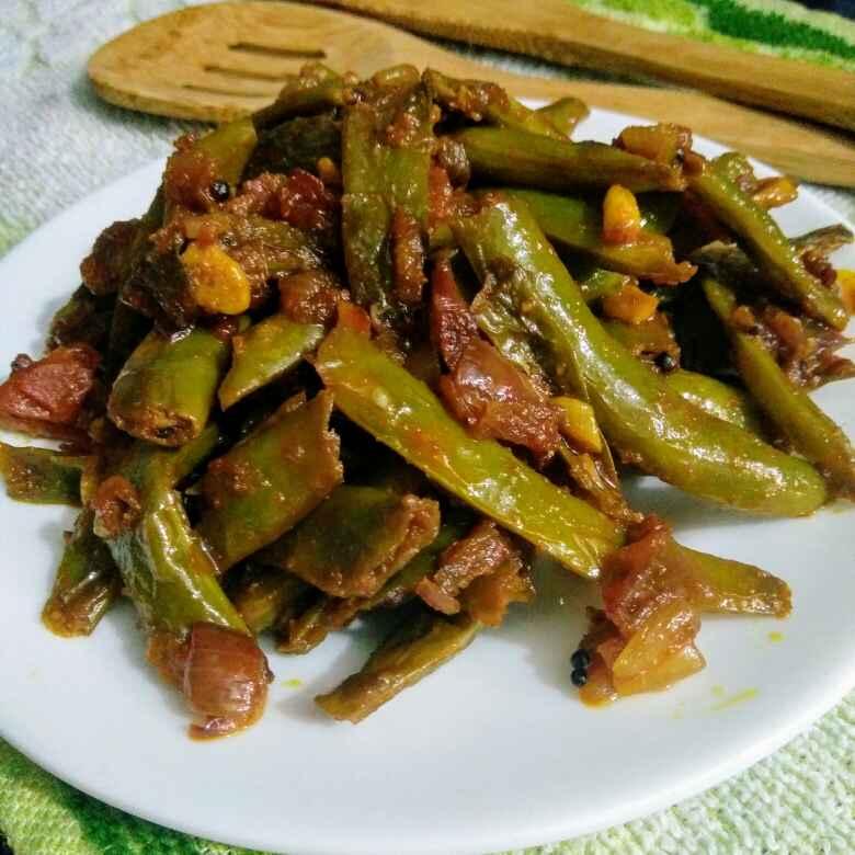 Photo of French Beans Masala by Reena Andavarapu at BetterButter