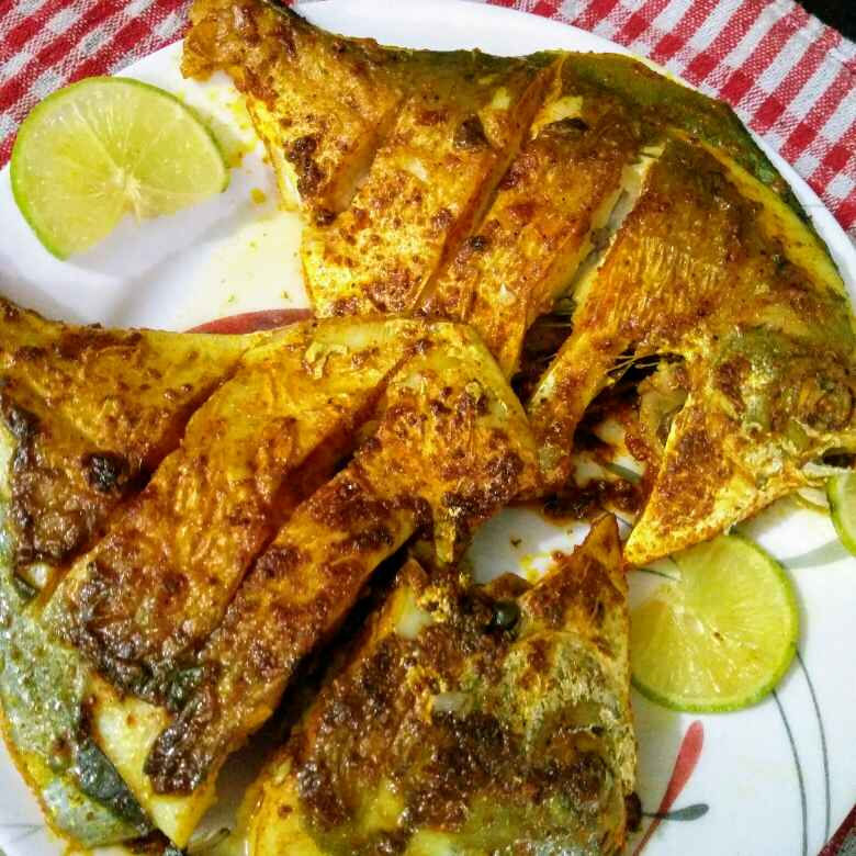 How to make Pomfret fry