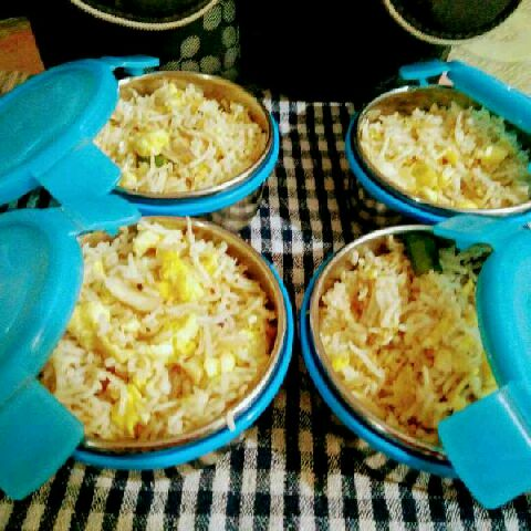 How to make Quick egg fried rice