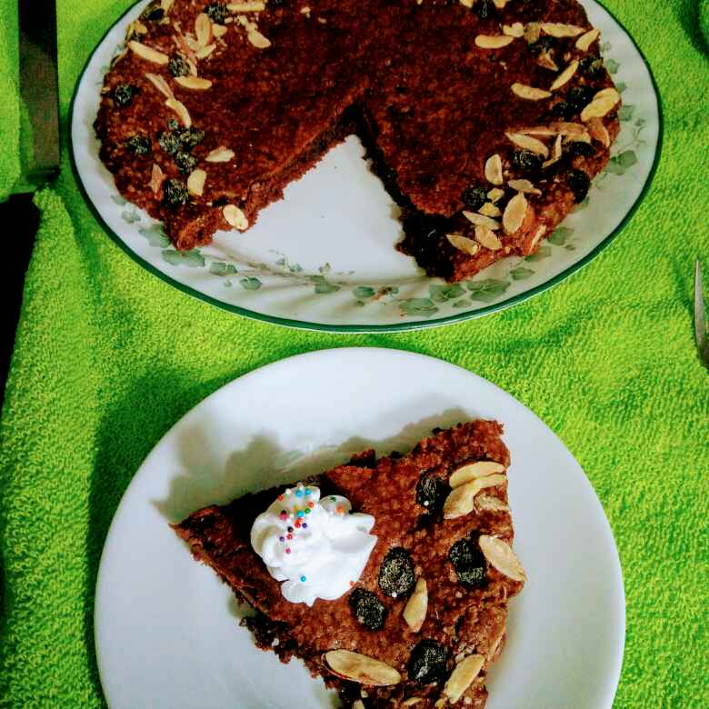 Photo of Coco fudgy brownie tart by Reena Andavarapu at BetterButter