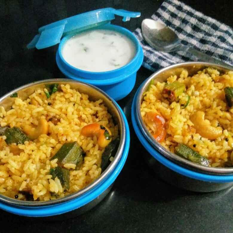 Photo of Bhendi tawa pulav by Reena Andavarapu at BetterButter