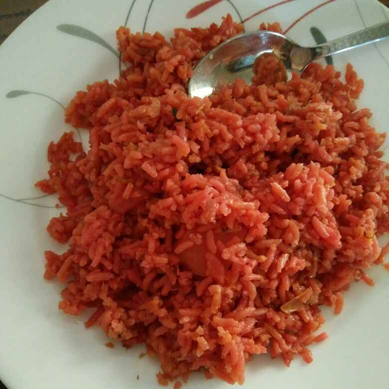 Photo of Beetroot rice by Reena Andavarapu at BetterButter