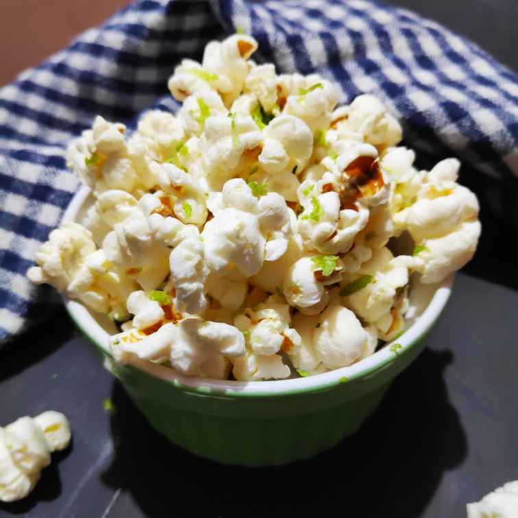 Photo of spicy citrusy popcorn by Reena Andavarapu at BetterButter