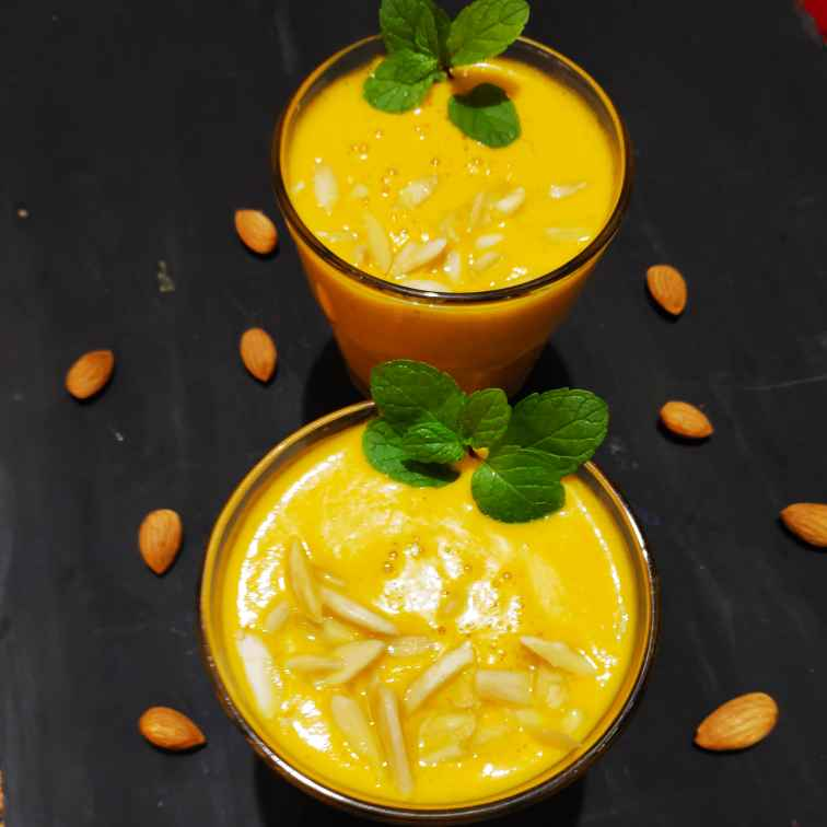Photo of Carrot yogurt sunshine smoothie by Reena Andavarapu at BetterButter