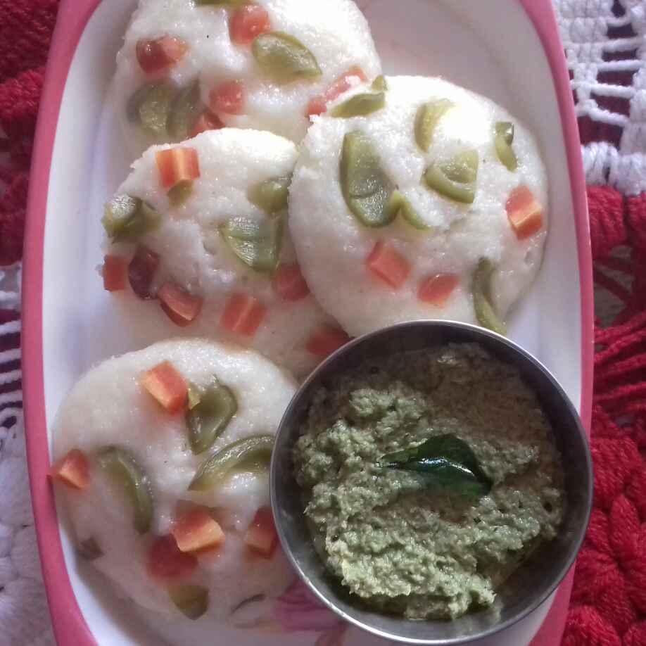 How to make Rava vegetable idli