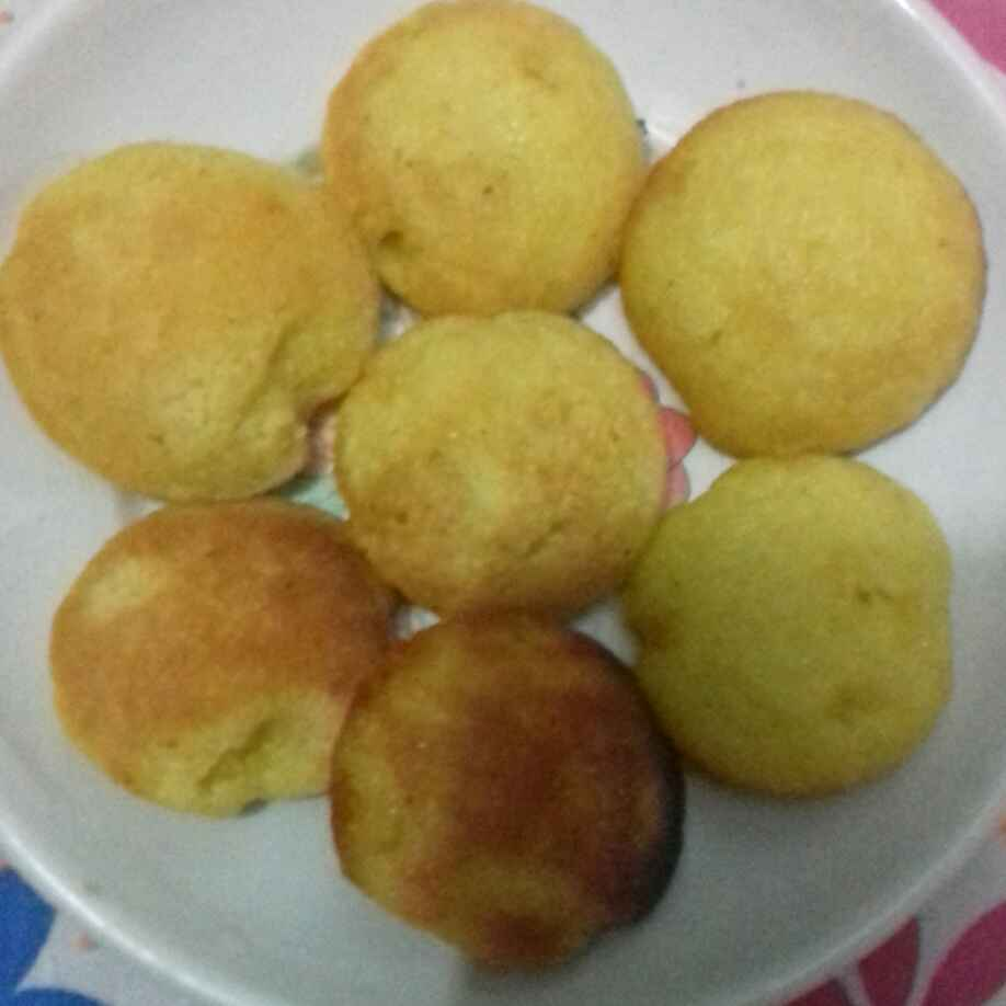 How to make Mango rava cake in appe pan