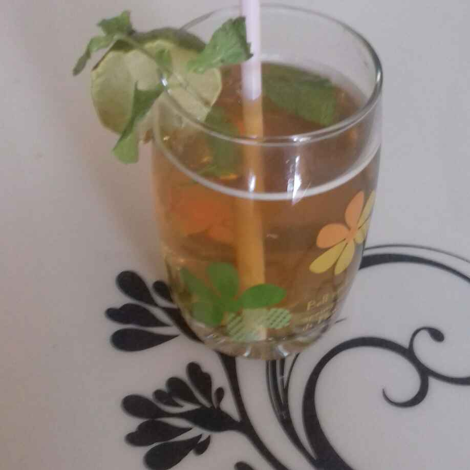 Photo of Mango ice tea by Reena Verbey at BetterButter