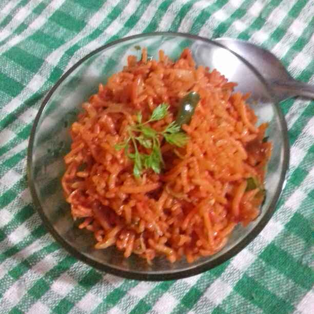 Photo of Tomato rice by Reena Verbey at BetterButter