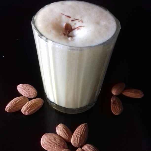 How to make बादाम दूध
