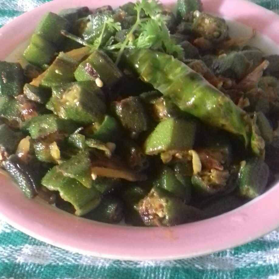 Photo of Bhindi ki sabji  by Reena Verbey at BetterButter