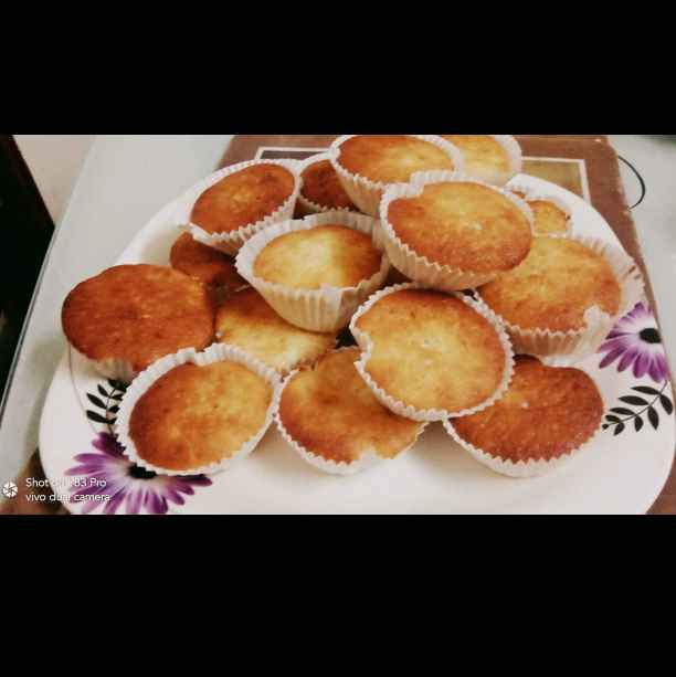 Photo of Butter cup cakes by rejaz shiya at BetterButter