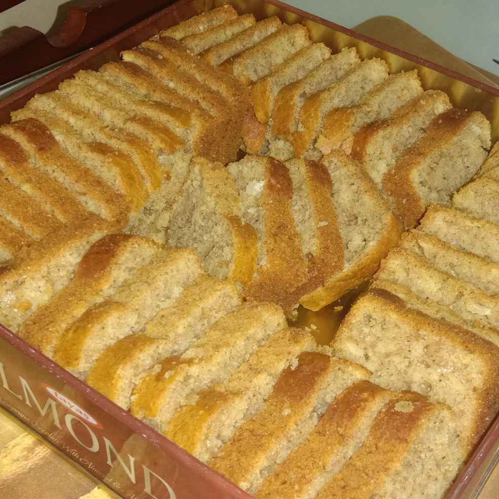 Photo of banana coconut  loaf cake by rejaz shiya at BetterButter