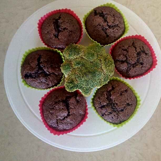 Photo of Broccoli Chocolate Muffins by Rekha Unni at BetterButter