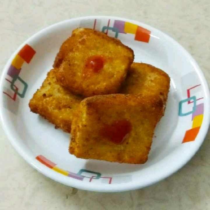 How to make Fried Mozzarella Sandwich Bites