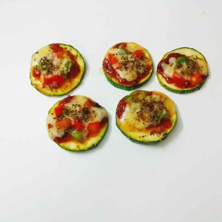 How to make Zucchini Pizza Bites