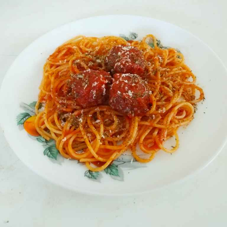 Photo of Spaghetti and meatballs by Rekha Unni at BetterButter