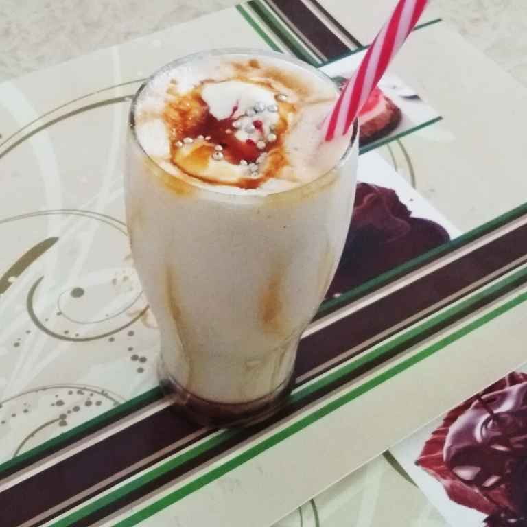 How to make Caramel Shake