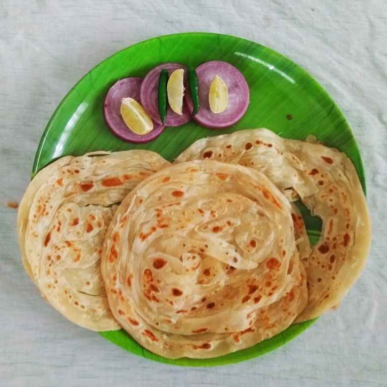 How to make Malabar Parotta
