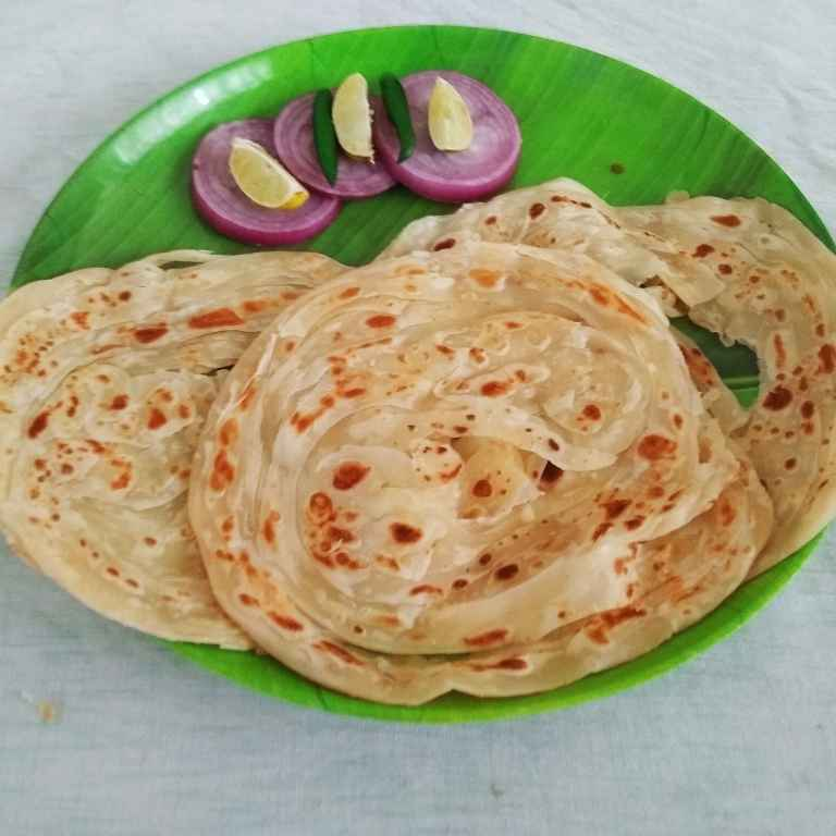 How to make Malabar Parotta