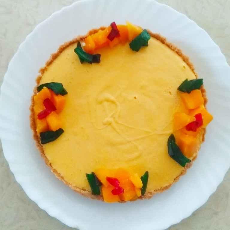 How to make No Bake Mango Pie