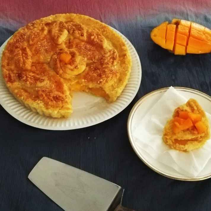 How to make Baked Mango Pie