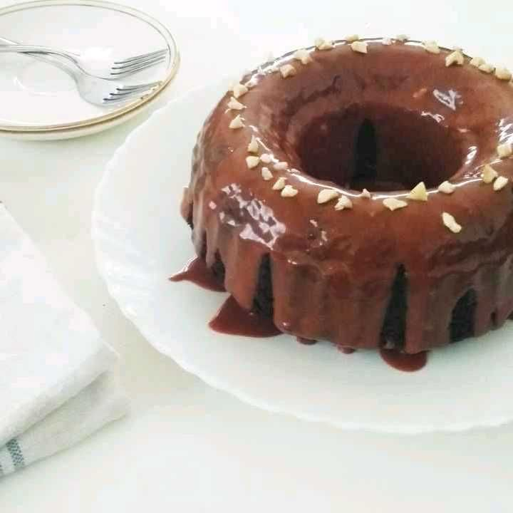 How to make Double Chocolate Bundt Cake