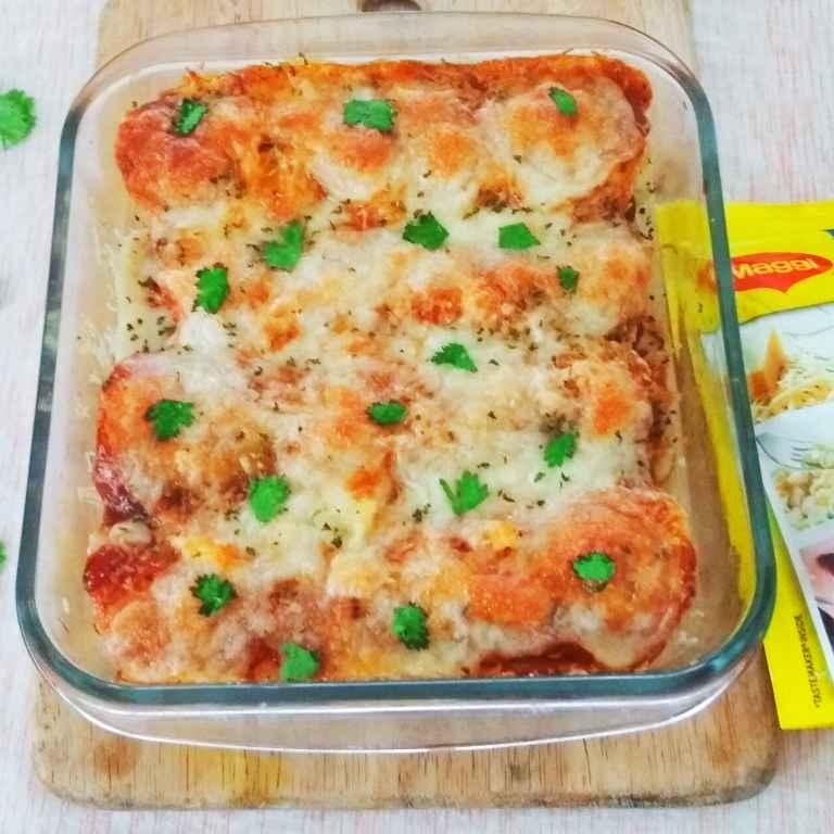 Photo of Maggi Pazzta Enchiladas by Rekha Unni at BetterButter