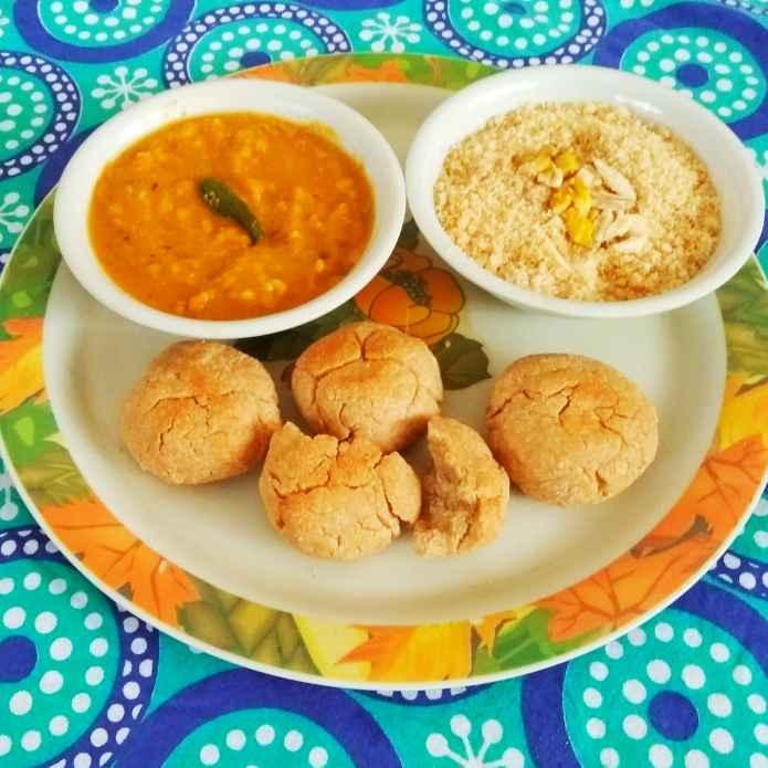 How to make Dal Batti Churma