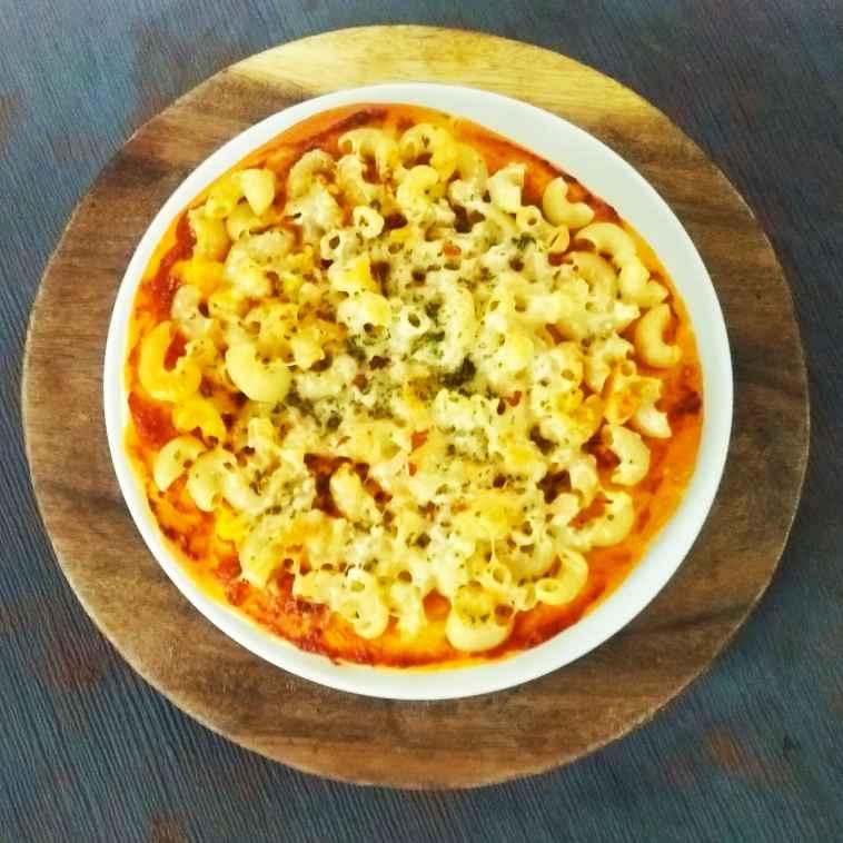 How to make Mac n Cheese Pizza