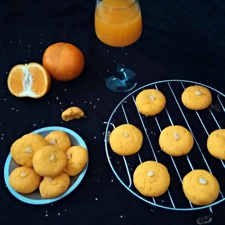 How to make Delish Orange Cookies