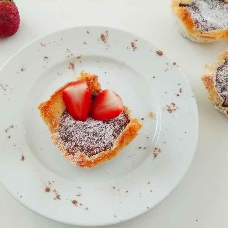 Photo of Chocolate Custard Bread Tartlets by Rekha Unni at BetterButter