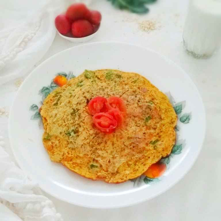 How to make Healthy Oats Omlette