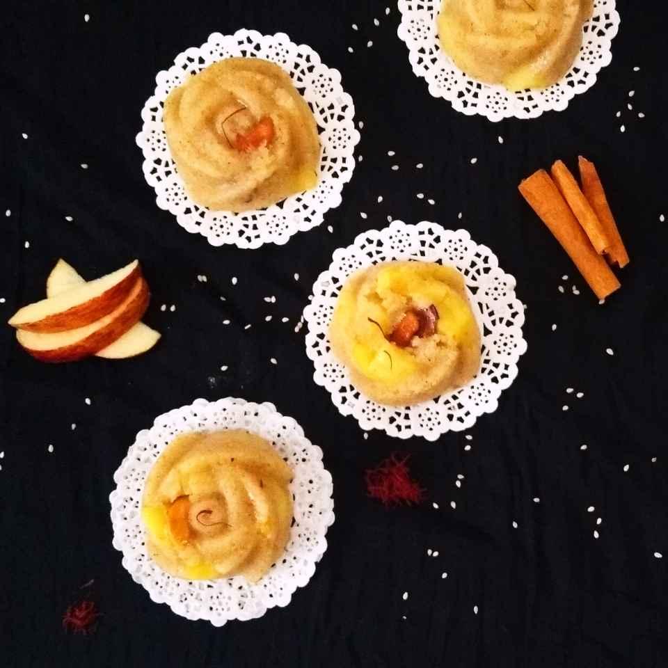 How to make Apple Cinnamon Sheera/Kesari