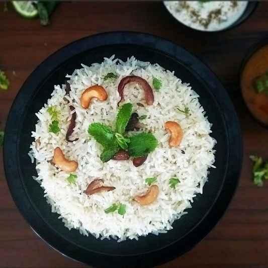 How to make Ney (Nei) Choru/ Kerala Ghee Rice