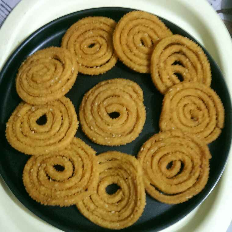 How to make Butter chakri