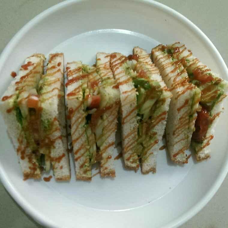 How to make Veg sandvich