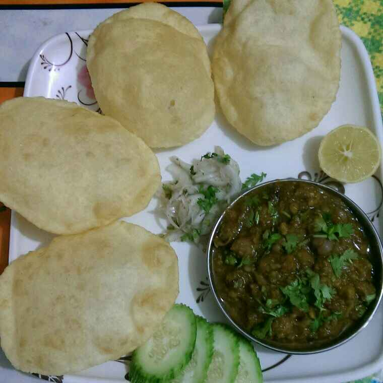 Photo of Chhole bhature by Rekha Varsani at BetterButter