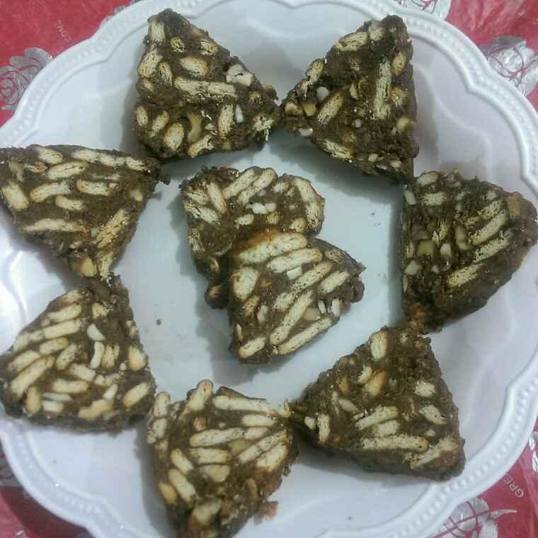 Photo of Kajur biscuit cake  by Rekha Varsani at BetterButter