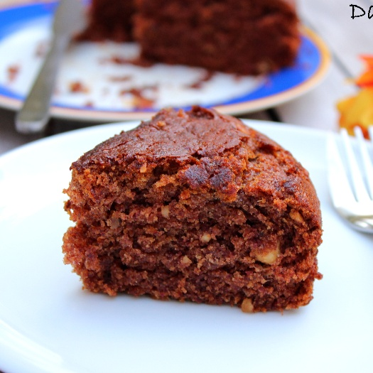 Photo of Eggless Dates Cake by Reni Miller at BetterButter