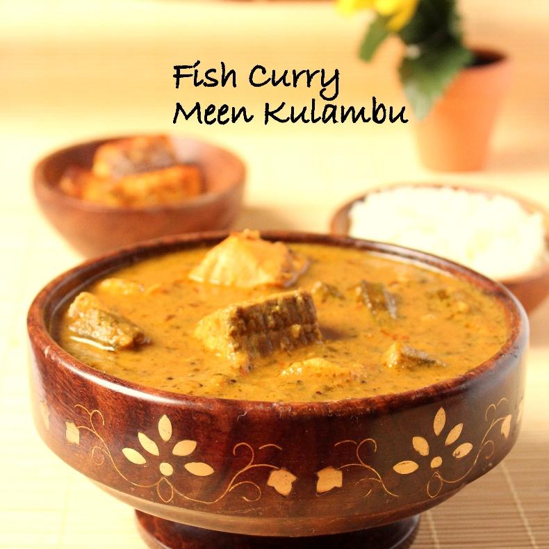 How to make Fish Curry - Meen Kuzhambu