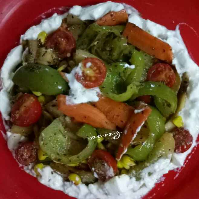 Photo of Fusion salad for dinner party  by Renu Chandratre at BetterButter