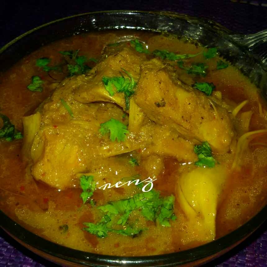 Photo of OPOS Jack fruit Curry / Kathal Ki Sabji  by Renu Chandratre at BetterButter