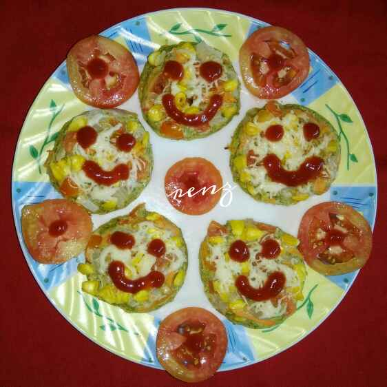 How to make Moong pizza bites