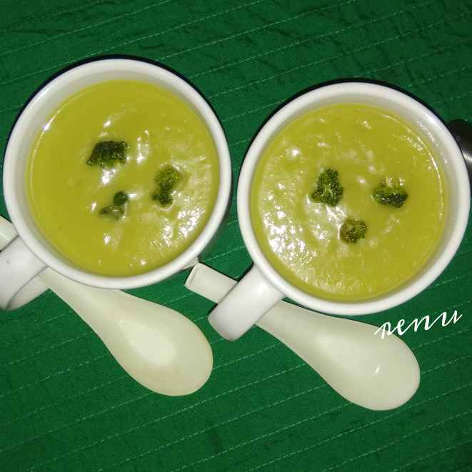 Photo of Broccoli Soup by Renu Chandratre at BetterButter