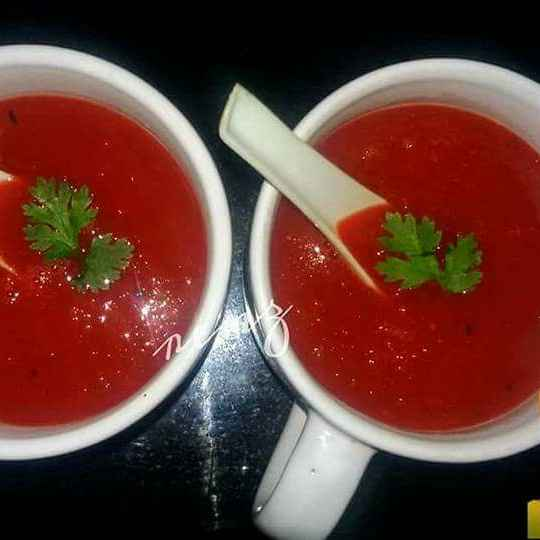 Photo of Carrot tomato soup by Renu Chandratre at BetterButter