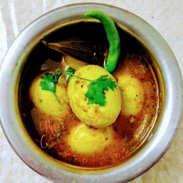 How to make स्पाइसी अंडा करी / एग करी