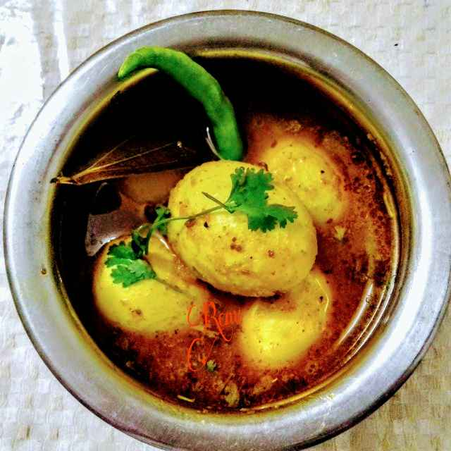 Photo of Spicy Egg Curry by Renu Chandratre at BetterButter