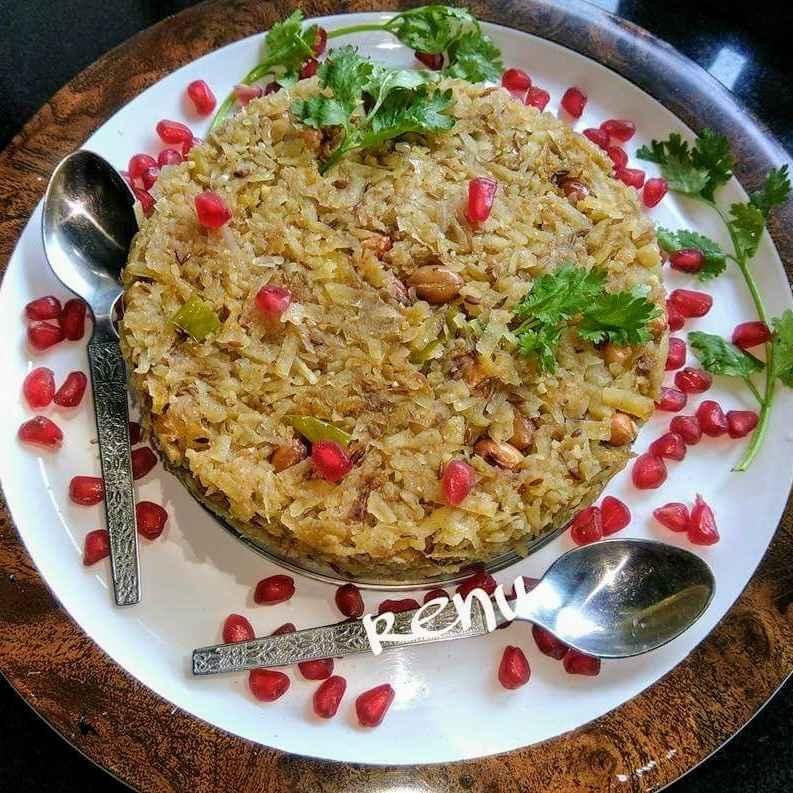 How to make Sweet Potato Poha/ Kees (in Marathi)