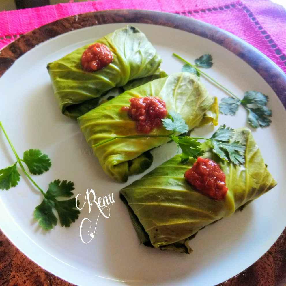 Photo of Baked Cabbage Rolls by Renu Chandratre at BetterButter